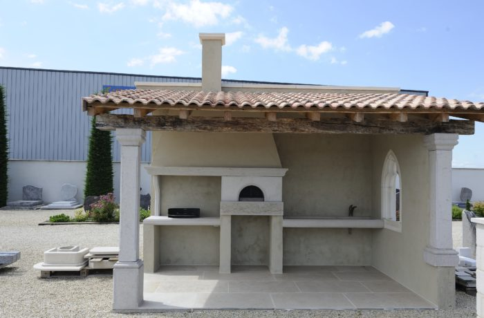 Fabrication et installation d'un Pool House