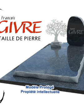 Monument FGC Olivier Granit Black and White